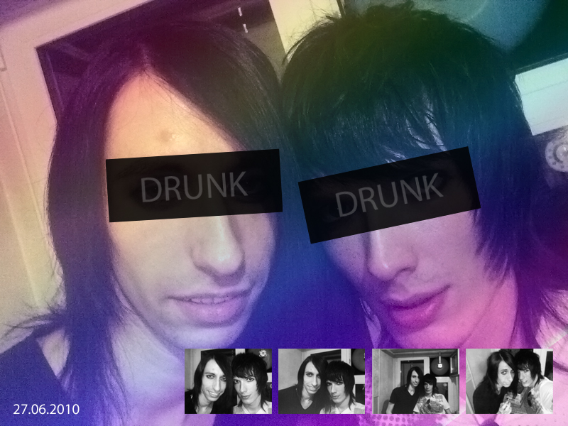 Two drunks