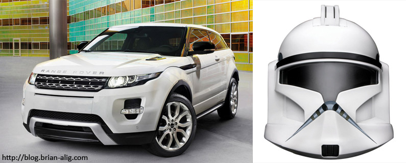 Range Rover Evoque vs. Star Wars