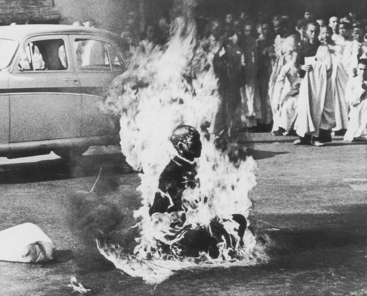 The burning patriarch