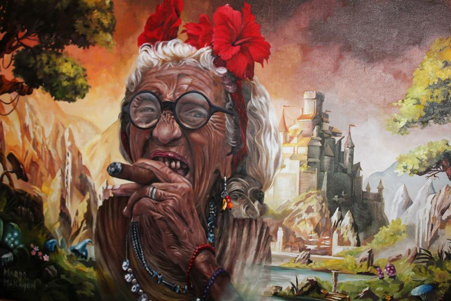 Кубинская старушка