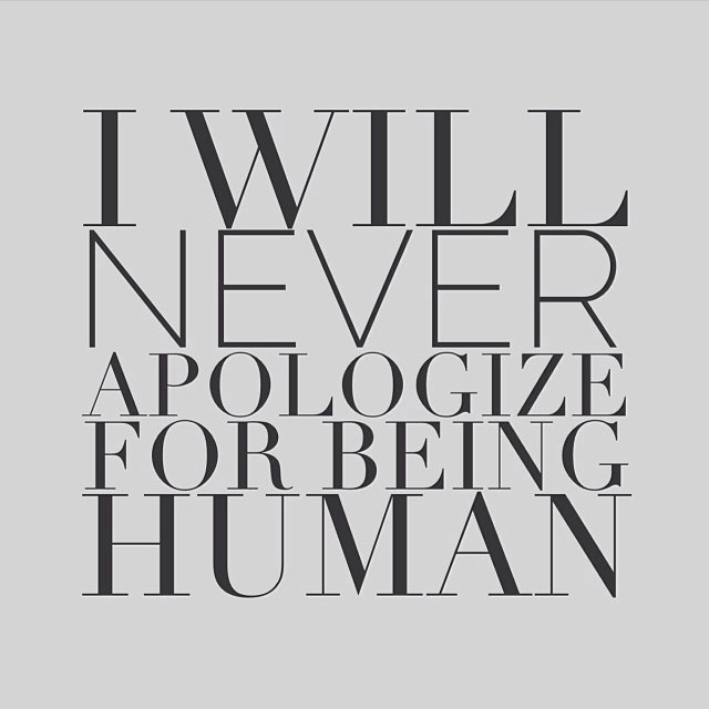 I will never