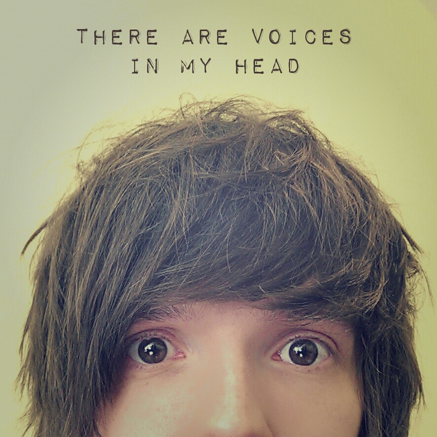 There are voices in my head