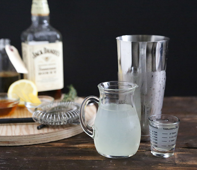 Honey Whiskey Lemonade