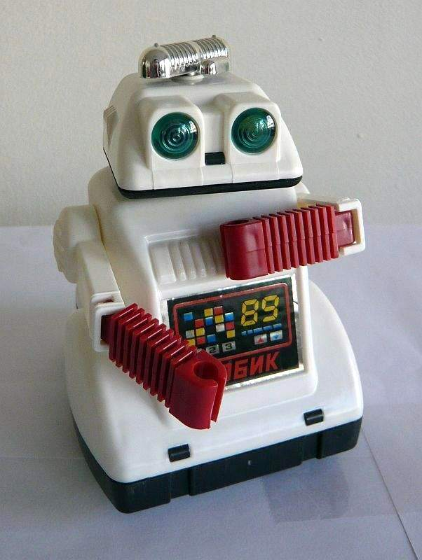 Robot Robik from USSR