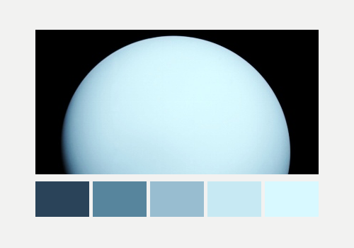 Planets + Color Palette