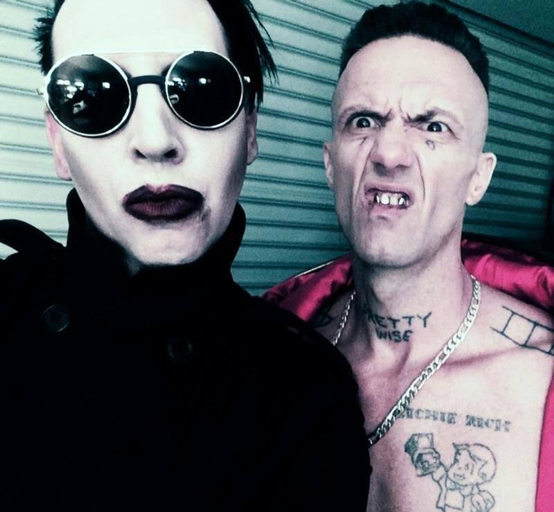 Marilyn Manson and Ninja