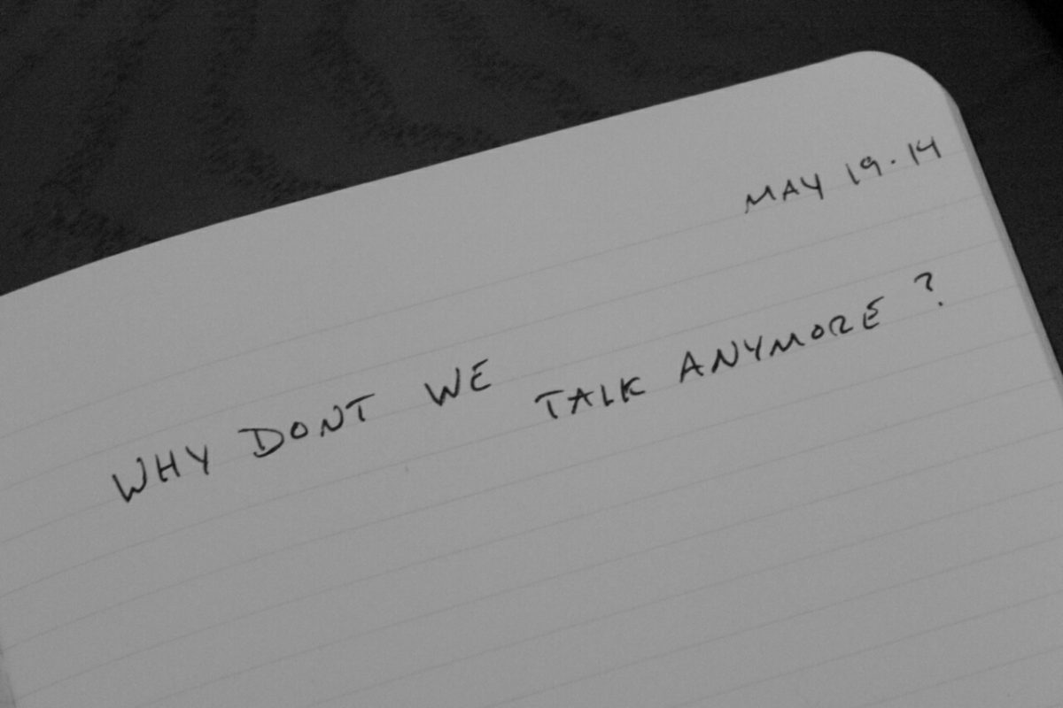 Why don't we talk anymore?