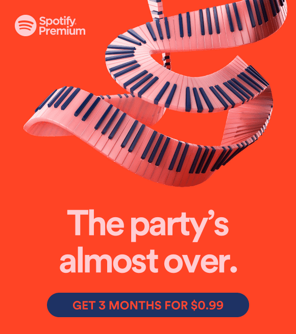 Spotify premium advertising 1