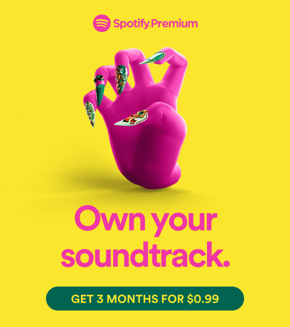 Spotify premium advertising 2