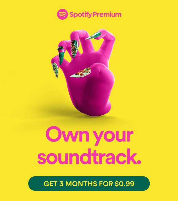 Spotify premium advertising 2