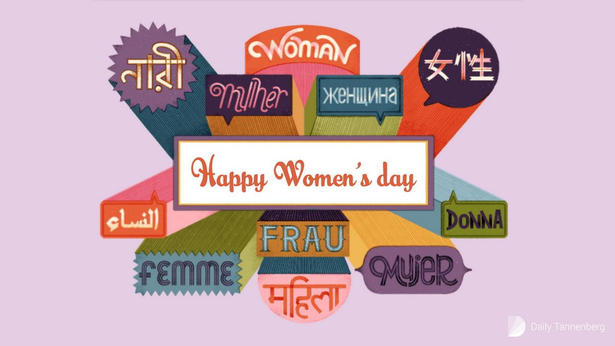 Happy Women's Day — card 014