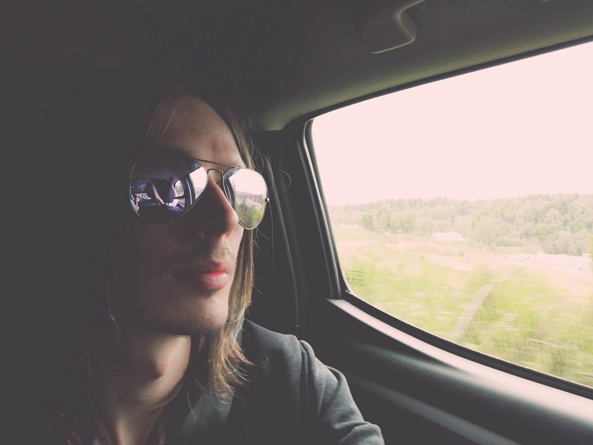 Backseat passenger